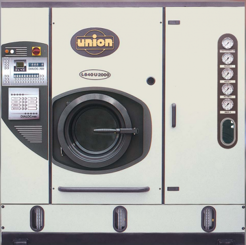 Union L840 dry cleaning machine