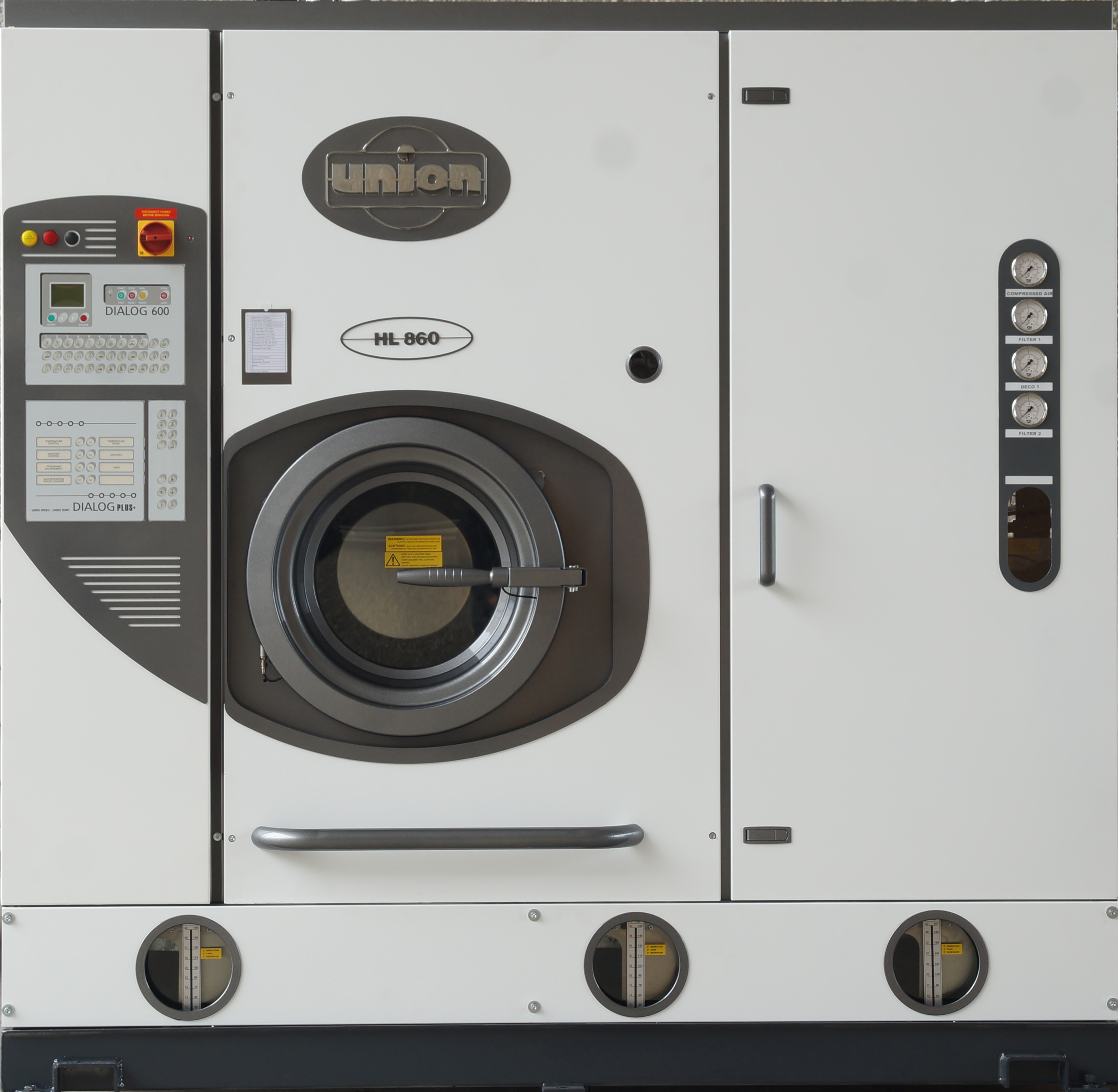 union cleaning machine
